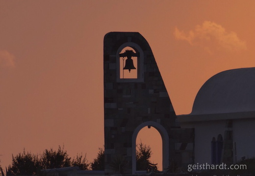 Church at sunset